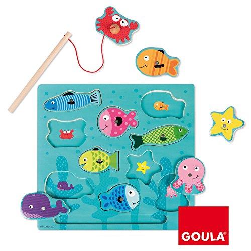 Goula - Puzzle pesca magnético (Diset 53131)