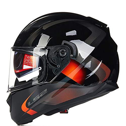 1-1 Sicherheit Helme Allround-Radfahren Doppelt Brille Aufblasbar Airbag Moto-Cross Off-Road Wintersport Im Freien Moto-Cross Off-Road Wintersport Im Freien,A,XL