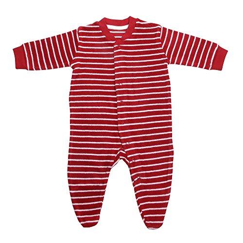 Living Crafts Baby Frottee-Schlafanzug aus Bio-Baumwolle (Bio-baby-nachtwäsche)