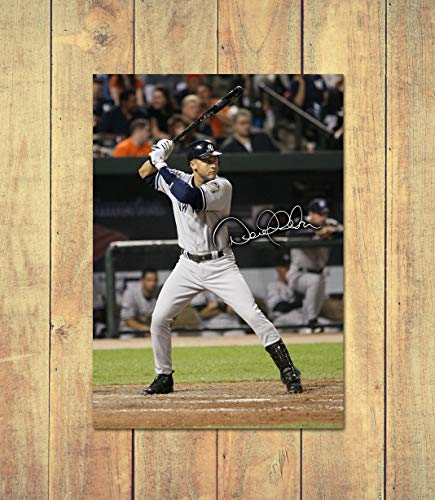 Star Prints Derek Jeter - New York Yankees - MLB 2 - High Gloss Personalised Printed Poster - A4 (210 x 297 mm) -
