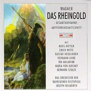 Richard Wagner: Das Rheingold (Gesamtaufnahme; Aufführungsmitschnitt vom 25.7.1953)