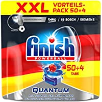 Finish Quantum, Spülmaschinentabs, XXL, 50 + 4 Tablets