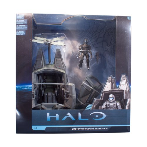 Image of Mcfarlane Halo 4 Series 1 Odst Drop Pod