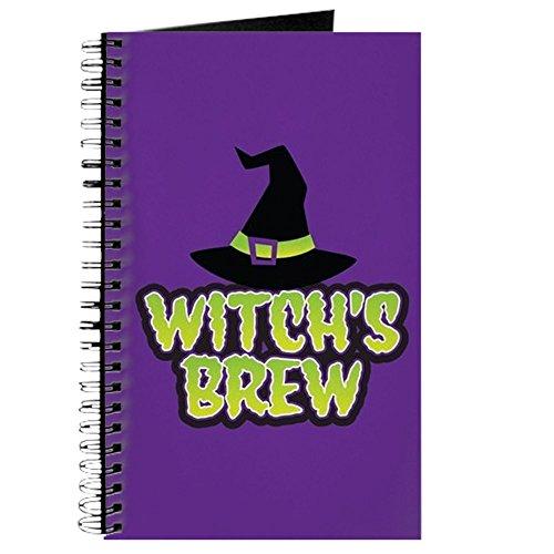 CafePress–Witch 's Brew–Spiralbindung Journal Notizbuch, persönliches Tagebuch, blanko