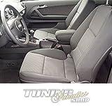 Mittelarmlehne / Mittel-Armlehne mit klappbarem staufach / Mittel-konsole, Fahrzeugspezifisch, Farbe:Schwarz (Leder)