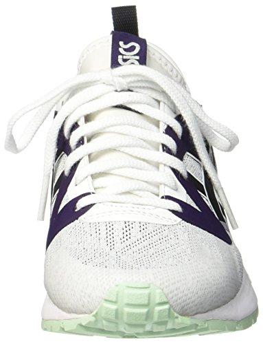 Asics Gel-Lyte V NS, Sneakers Basses Mixte Adulte Blanc (White/Black)