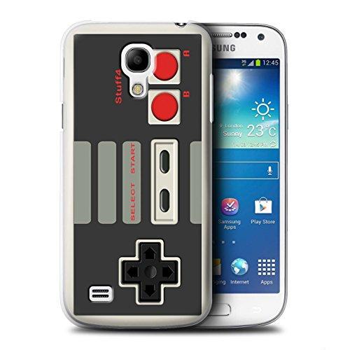 Stuff4® Hülle/Case für Samsung Galaxy S4 Mini/Klassisches Nintendo Muster/Spielkonsolen Kollektion