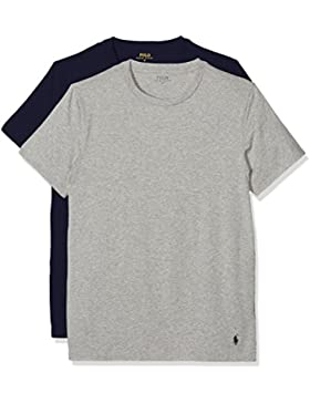 Polo Ralph Lauren Herren Unterhemd 2pk Short Sleeve Crew