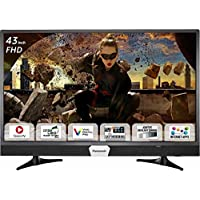 Panasonic 108 cm (43 Inches) Full HD LED Smart TV TH-W43ES48DX (Black) (2017 model)