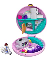 Polly Pocket Pocket World Compact Play Set with Surprise Reveals, Micro Polly and Accessories