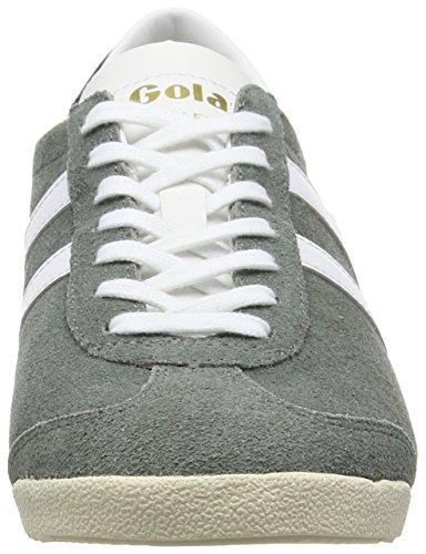 Gola Bullet Suede, Scarpe da Ginnastica Uomo Grigio (Grau (Grey/White))