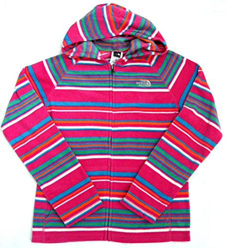 The North Face Girls Striped GLACIER Fleecejacke pink Stripe XL 164