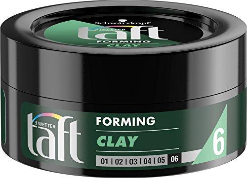 Schwarzkopf 3 Wetter Taft Forming Clay, Halt 6, 5er Pack (5 x 75 ml)