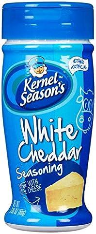 Kernel Gewürze – Weißer Cheddar Popcorn Gewürze (80 g) Popcorn Aroma (Weißer Cheddar)