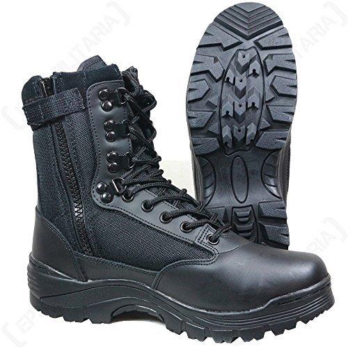 Tactical Boot mit YKK-Zipper schwarz Gr.45/ UK12