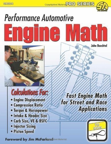 Performance Automotive Engine Math (SA Design-Pro) by Baechtel John published by S-A Design (2012)