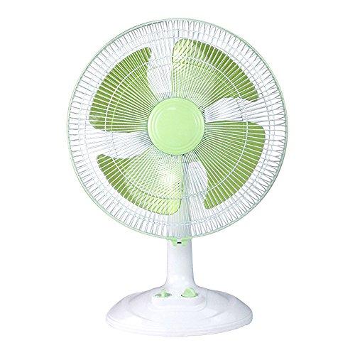 YANFEI Schreibtischventilatoren Bodenventilator 16 Zoll Silent Moving Head Fan (Farbe : Grün)