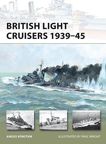 British Light Cruisers 1939–45 (New Vanguard) por Angus Konstam