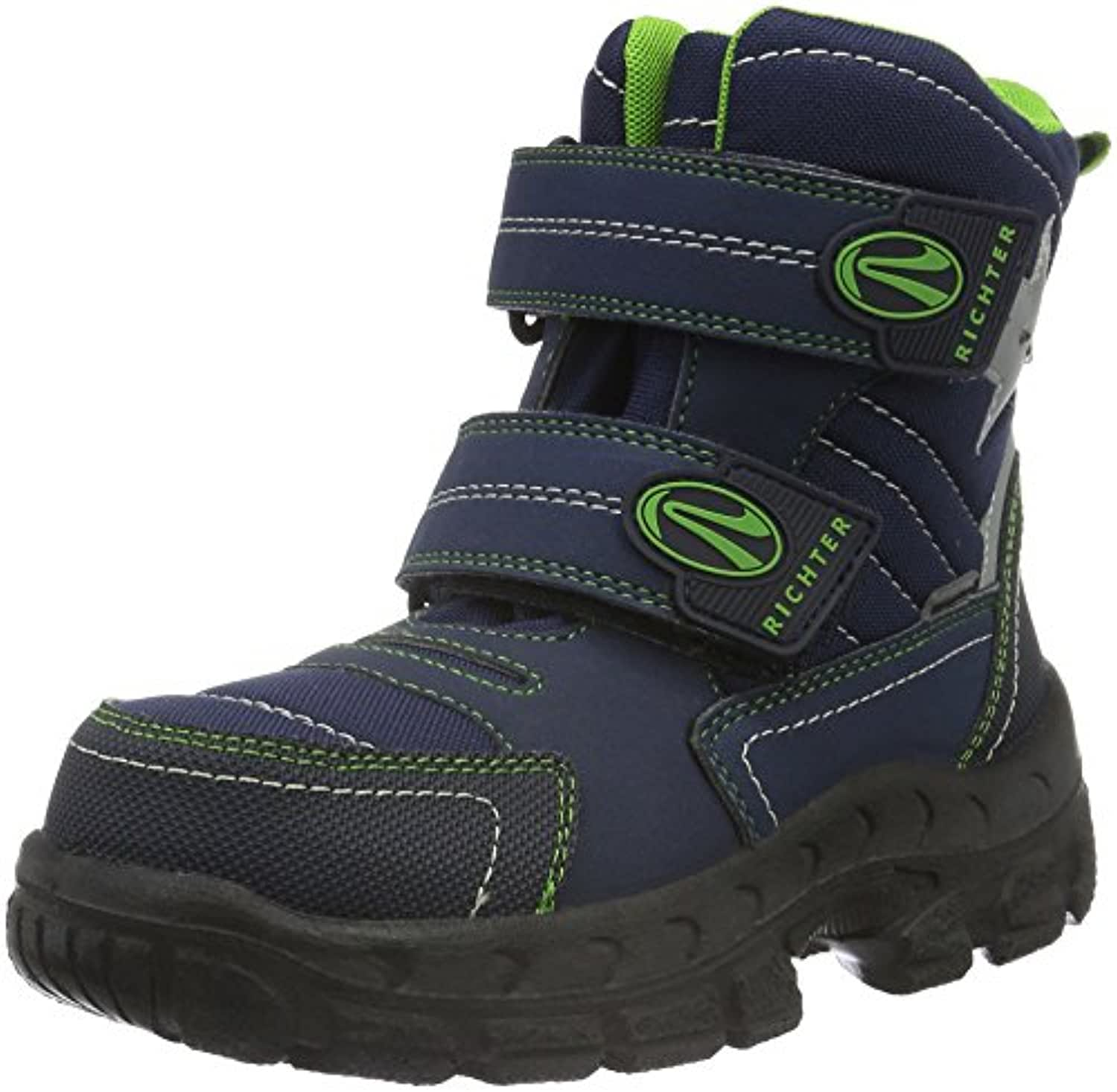 Richter Kinderschuhe Boys' Davos Warm-Lined Short-Shaft Boots and Bootees Blue Size: 1