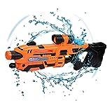 Tongtu Outdoor Wasserpistole Spielzeug, Super Soaker Wasserpistole Squirt Gun Blaster Spielzeug für Kinder und Erwachsene Outdoor Beach Garden Pool, Große Feuchtigkeitskapazität (Orange)