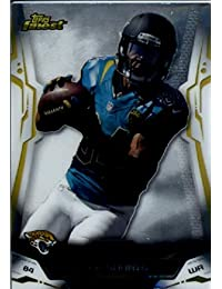 2014 Topps Finest Football Card # 44 Cecil Shorts Jacksonville Jaguars