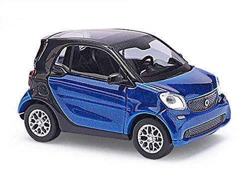 busch-50700-smart-fortwo-coupe-c453-cmd-fahrzeug-blau