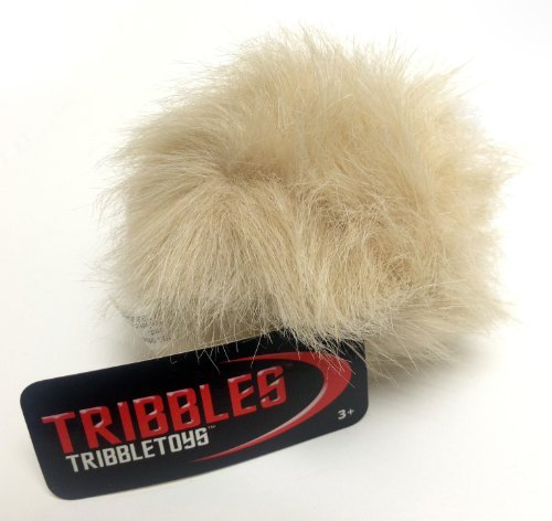 Tribble Toys Star Trek Plush Tribble - Tan Meadow Tribble - Small Size