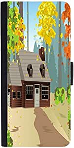 Snoogg Autumn Homedesigner Protective Flip Case Cover For Samsung Galaxy Gran...