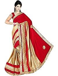 Karishma Women's Marble Saree,K007_Multicoloured_Freesize