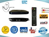 Best Fta Receivers - STC FTA D2H Satellite Receiver HD Recording (Black) Review