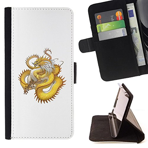 momo-phone-case-etui-housse-coque-en-cuir-portefeuille-or-yellow-dragon-serpent-long-tail-sony-xperi