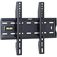 "VonHaus 15-42"" Fixed TV Wall Mount Bracket with Built-In Spirit Level for LED, LCD, 3D, Curved, Plasma, Flat Screen Televisions - Super Strong 40kg Weight Capacity"