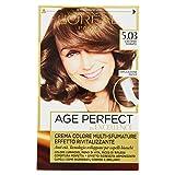 L'Oréal Paris Excellence Age Perfect Crema Colore Effetto Rivitalizzante, 8.32 Biondo Chiaro Perla