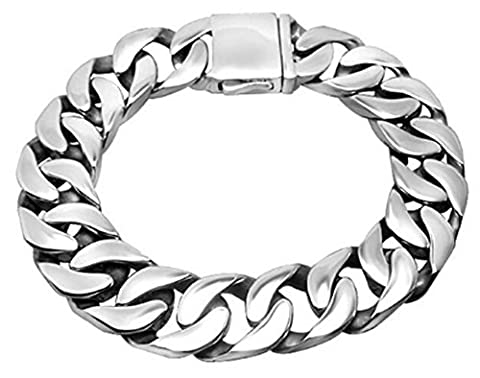 SaySure- Jewelry Accessory Male Shiny Steel Link Chain Bracelets