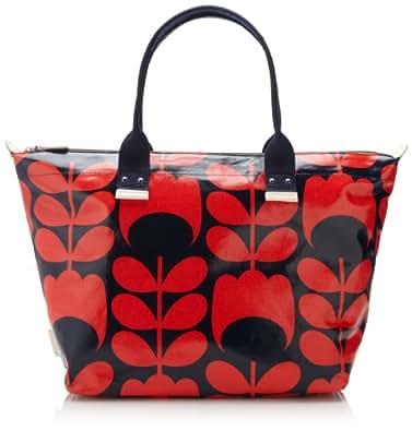 Orla Kiely Womens Shoulder Bag 14RETUS131-4650-00 Blue Red