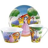 """Blaumann Set de Porcelana Infantil 3 piezas """"Cenicienta"""""""