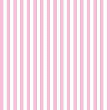 Konpon 250 X 250 Cm Senza Cuciture Rosa Bianco A Righe Fondale