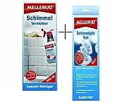 MELLERUD Set 1x Schimmel-Vernichter 500ml, 1x Schimmelpilz-Test
