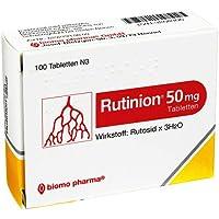 RUTINION Tabletten 100 St Tabletten preisvergleich bei billige-tabletten.eu