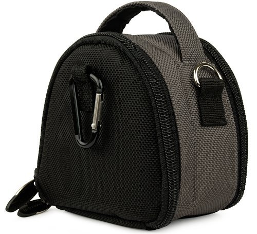 Grey Limited Edition Camera Bag Carrying Case with Extra Accessory Compartment for Sony Cyber-Shot DSC-H55 DSC-H70 DSC-HX7V DSC-T99 DSC-T110 DSC-TX5 DSC-TX9 DSC-TX10 DSC -TX55 DSC-TX100V DSC-W510 DSC-W530 DSC-W560 DSC-W570 DSC-WX5 DSC-WX9 DSC-WX10 DSC W650 W620 W610 Point and Shoot Digital Camera  available at amazon for Rs.2899