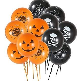 Anano 100PC Halloween Balloons 12 Inches Halloween Party Balloons for Halloween Party Decoration (RandomColor)