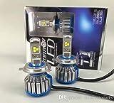 #10: LED Headlight Bulb H4 Size 40W CREE LED 3 Times More Brighter Than Stock Bulb.