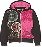 Desigual Mädchen Sweatshirt Sweat_Dragon, Grau (Gris Oscuro 2006), 152 (Herstellergröße: 11/12)
