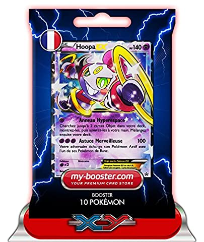 HOOPA EX XY85 140PV XY09 - Booster de 10 cartes Pokemon francaises my-booster