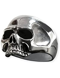 Fly Style Herren Totenkopf-Ring 925 Silber Keith Richards risi011
