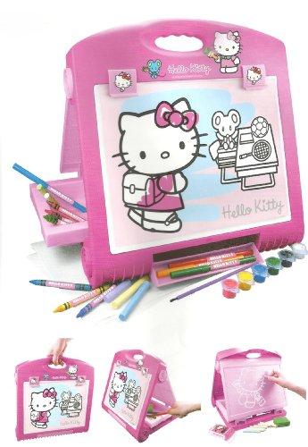 nstler-Tisch Kunst Staffelei (Hello Kitty Kostüm Für Mädchen)