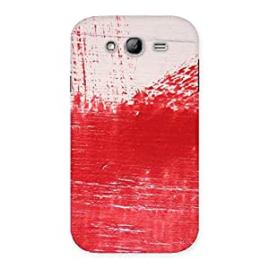 Special Red Fresh Texture Back Case Cover for Galaxy Grand Neo