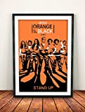 Orange Is the New Black 2013 A4 Movie / Film Poster / Print 260gsm Photo Paper