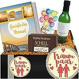 Traumpaar | Geschenkidee mit Wein | ausgefallene Geschenke Freundin ❤