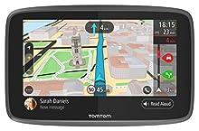 """Tomtom Go 6200 Navigatore GPS 6"""", 800 X 480 Pixel, Chiamata in Vivavoce, Siri Google Now, Aggiornamenti Wi-Fi, Nero"""